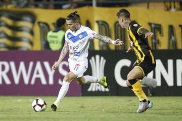 El campeón boliviano sucumbe ante Peñarol
