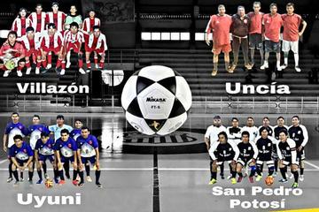 Potosí alberga el torneo eliminatorio provincial de futsal en la categoría Sénior