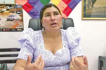 Nélida Sifuentes es la nueva coordinadora del MAS en Potosí