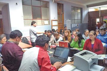 Continúa el reordenamiento en las unidades educativas