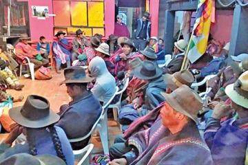 Marcha de Qhara Qhara llega a La Paz y exige el respeto de su territorio