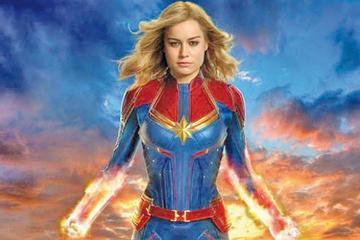 Capitana Marvel lidera la taquilla