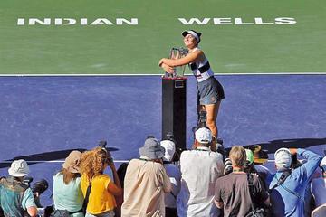 Bianca Andreescu conquista el torneo de Indian Wells