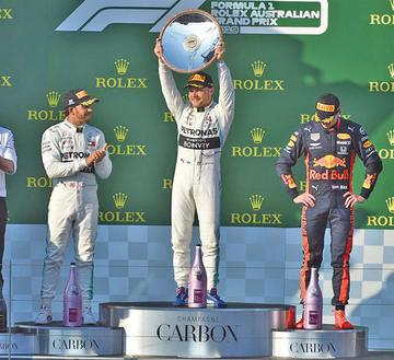 Bottas gana el Gran Premio de Australia