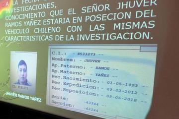 Ocho personas son detenidas por vehículo de chilenos muertos