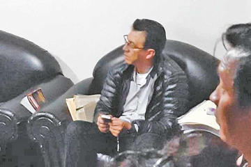 Excomandante Raña es trasladado al penal de San Pedro de La Paz
