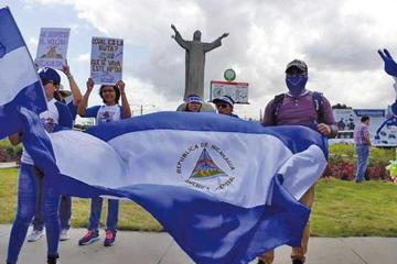 Unos 200 nicaragüenses que huyeron de Ortega están detenidos en EE.UU.