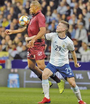 Venezuela se impone a la selección argentina
