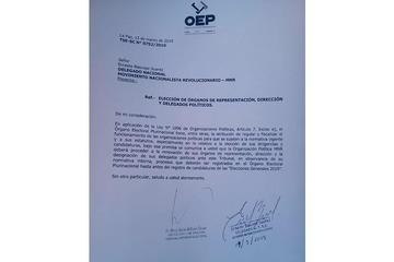 TSE instruye la democratización de las organizaciones políticas