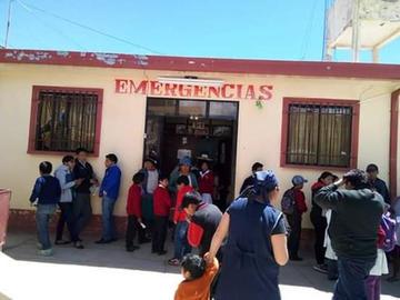 Se intoxican 32 alumnos con el desayuno escolar en Llallagua