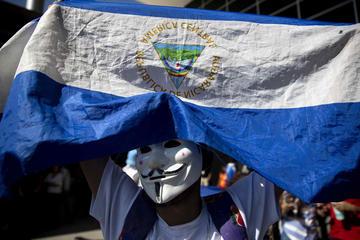 """Realizan """"piquete express""""en Nicaragua y piden salida de Ortega"""