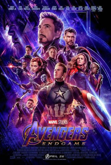 Los Vengadores llegan a los cines el 25 de abril