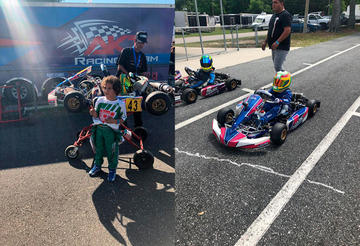 Lucas Careaga clasifica al panamericano de Karting