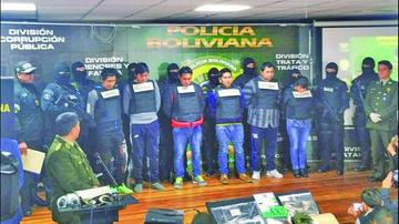 Policía desbarata banda criminal que secuestró a una joven en El Alto