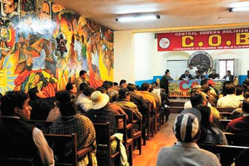 COB define en ampliado nacional la propuesta del incremento salarial