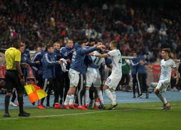 Correa le da la victoria a la selección argentina sobre Marruecos