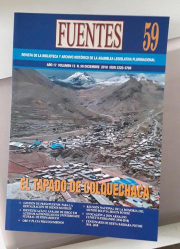 "Hoy presentan tres números de la revista ""Fuentes"""