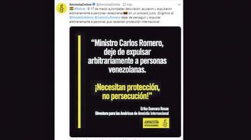 Exigen a Gobierno boliviano pare persecución y expulsión de venezolanos