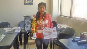 Condori buscará coronarse en el nacional de ajedrez