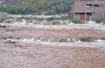 Evalúan daños causados por granizada caída en Tupiza