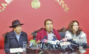 Santamaría y Quispe responden a Mesa: no hay miedo a cualquier denuncia