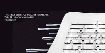 El futbolín más caro del mundo es una obra de arte que cuesta $us 90.000