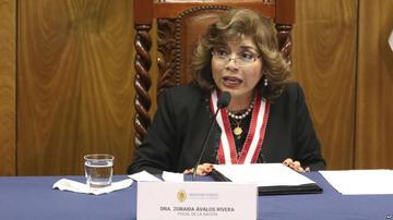 La fiscala general de Perú jura al cargo y respalda al equipo del caso Lava Jato