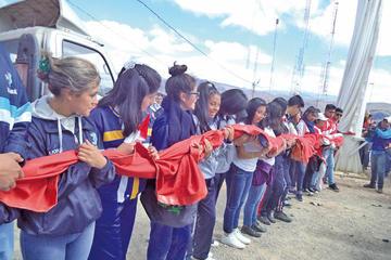 Estudiantes potosinos reafirman la importancia del Cerro Rico