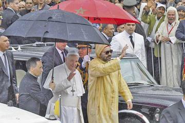 Francisco y el rey de Marruecos abogan por diálogo entre religiones