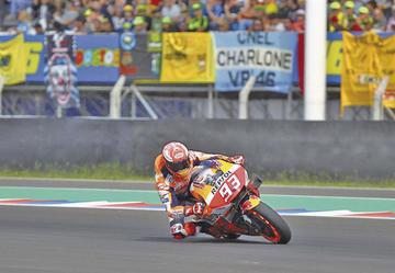 Márquez recupera la primera posición en el GP de Argentina