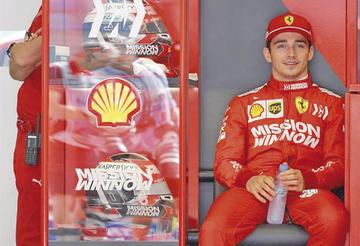 """Leclerc logra la """"pole"""" en el GP de Bahrein"""