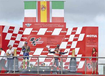 Márquez conquista el GP de Argentina de MotoGP