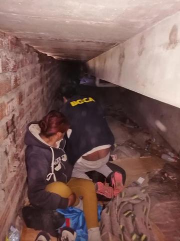 Descubren área oculta en puente Tinku donde las parejas tenían sexo