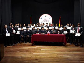 Potosí ya cuenta con sus entrenadores acreditados en la categoría C