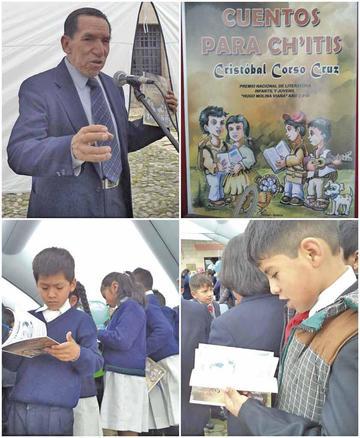 """Presentan """"Cuentos para Ch'itis"""" de Cristóbal Corso"""