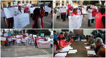 Diálogo busca superar el cierre de la farmacia de la Cruz Roja