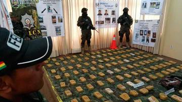 Felcn decomisa más de 129 kilos de cocaína y marihuana