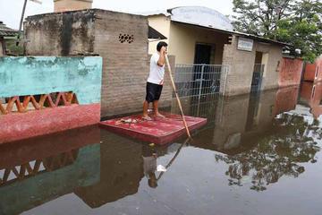 Las inundaciones en Paraguay afectan a más de 20.000 familias