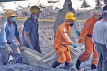 Tres jucus murieron en mina de Illapa cuando robaban mineral