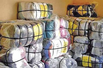 Aduana regional de Tarija destruye 46 toneladas de ropa usada