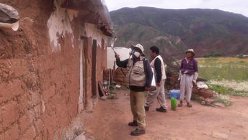 Potosí busca consolidarse como territorio libre del mal de Chagas