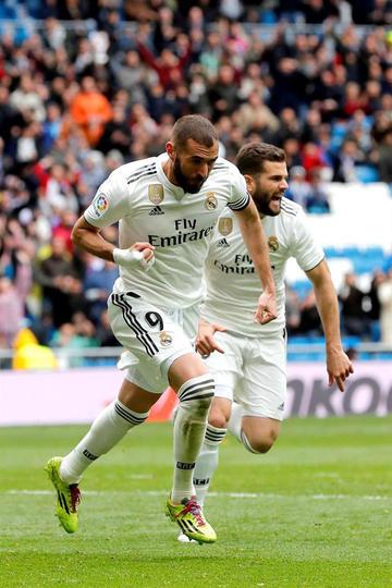 Benzema rescata el orgullo de Real Madrid