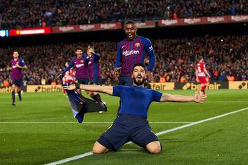 Barcelona acaricia el título de LaLiga