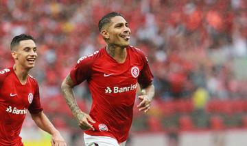 Guerrero ayuda a clasificar  a la final al Internacional