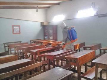 Supervisan los casos de varicela en las escuelas