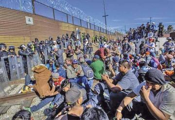 México: crece la desesperación de migrantes por escasear alimentos
