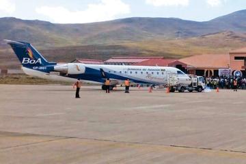 Desde hoy reponen los vuelos de y hacia la ciudad de Potosí