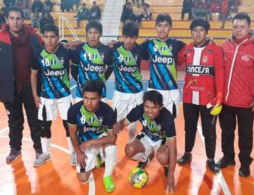 Los equipos de GAMP se coronan campeones en futsal