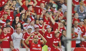 Internacional se clasifica a octavos de la Libertadores