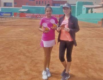 Terrazas y Zurita se coronan campeones en tenis